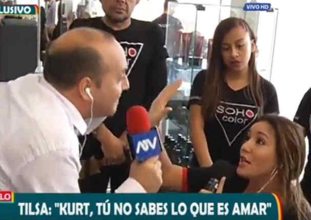 ¡Explotó! Tilsa Lozano dijo esto del supuesto encuentro que tuvo con el 'Loco' Vargas - VIDEO