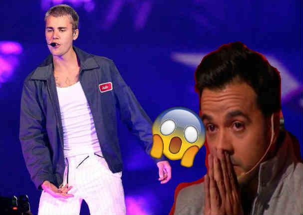 ¡No puede ser! Justin Bieber olvidó la letra de 'Despacito' y pasó lo peor - VIDEO