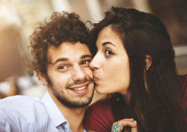 A los adolescentes una pareja perfecta