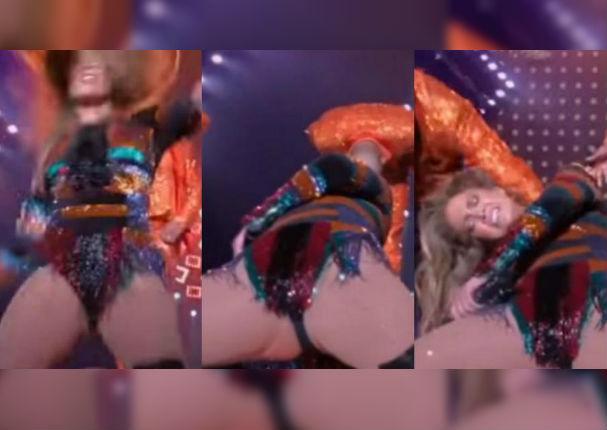 ¡Qué doloroso! Jennifer López sufre grave lesión haciendo complicado baile