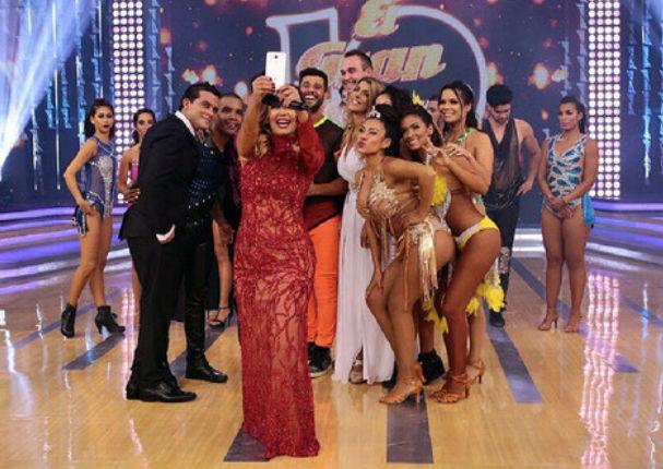 ¡Asuuu! Ex participante de 'El Gran Show' es ampayado con su bailarina y la novia reaccionó así