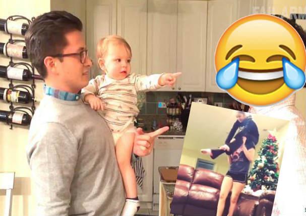¿Qué hacen los papás cuando se quedan con sus hijos? Los mejores videos