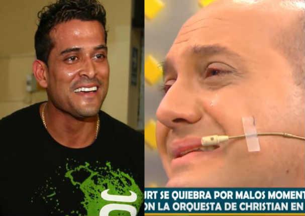 Metiche lloró por culpa de Christian Domínguez - VIDEO