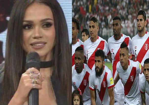Mayra Goñi calla la boca a fan por decir que está con futbolista casado