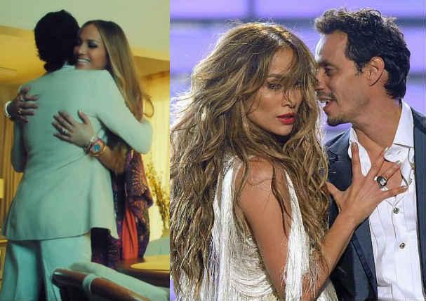 Jennifer López y Marc Anthony le cantan al amor juntitos - VIDEO