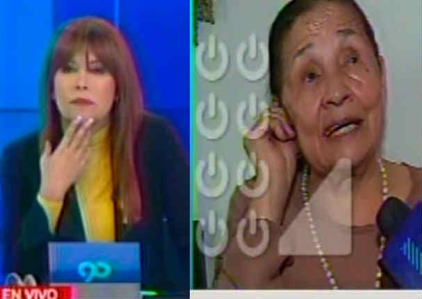 Así es como mamá de Ollanta Humala responde extraña pregunta de Magaly Medina
