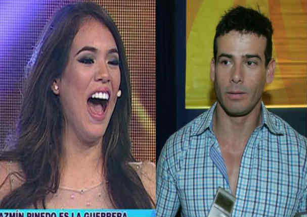 Jazmín Pinedo cachetea a Joselito Carrera en pleno programa en vivo - VIDEO