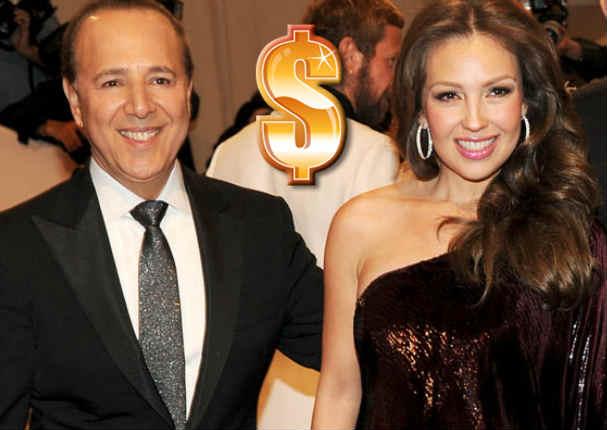Thalía es sorprendida por su esposo con tremendo obsequio que despertará tu envidia