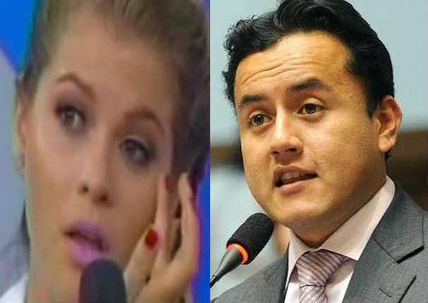 Brunella Horna: Esta fue la extraña reacción que tuvo tras fuerte accidente - VIDEO
