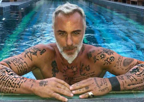 Así lucía el multimillonario Gianluca Vacchi antes de ser amigo de las estrellas