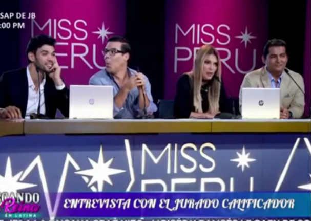 Miss Perú: Jessica Newton se enojó con aspirante por mostrar ropa interior