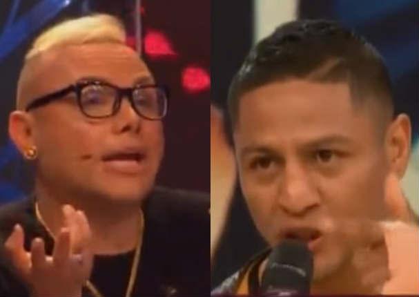 ¡SE PICÓ! Jonathan Maicelo habría agredido a Carlos Cacho tras polémico comentario (VIDEO)