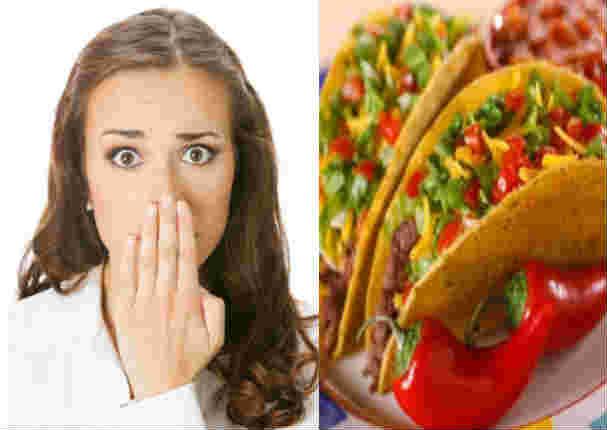 Mujer quedó en shock al ver el interior de su plato de comida