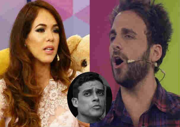 'Peluchín' y 'La Chinita' le dicen de todo a Chistian Domínguez