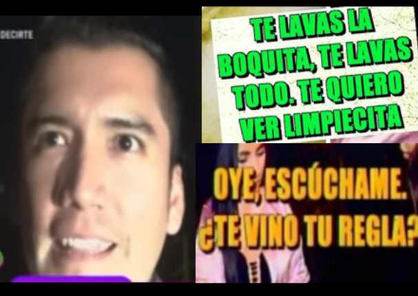 Ángelo Fukuy habló tras reveladores audios de infidelidad que lo delatan - VIDEO