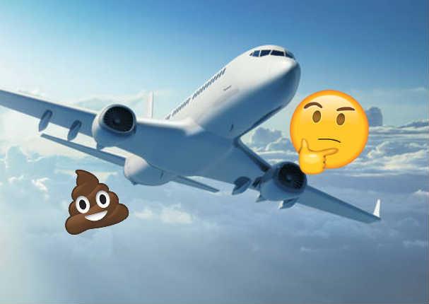 ¿Sabes a dónde van los desechos de los aviones? - VIDEO