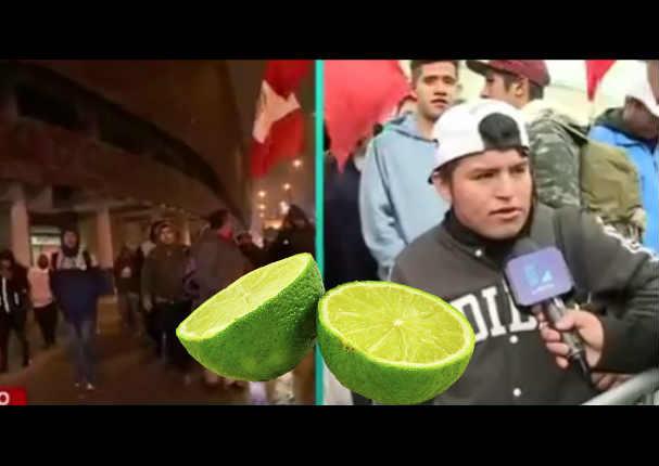 Perú vs Colombia: Hincha vendió limones para comprar entradas pero todo salió mal
