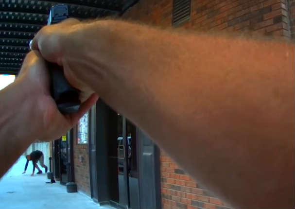 Actor sufre el susto de su vida al recibir un disparo en plena grabación