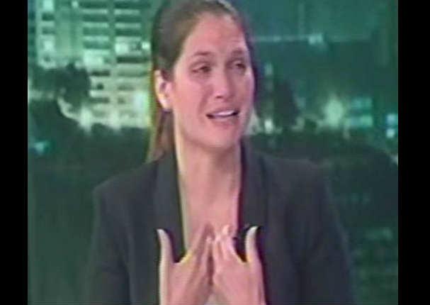 Lorena Álvarez lloró y desmiente la versión de su expareja - VIDEO