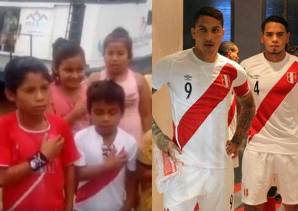 Selección Peruana: Niños de comunidades alejadas dieron emotivo mensaje  - VIDEO