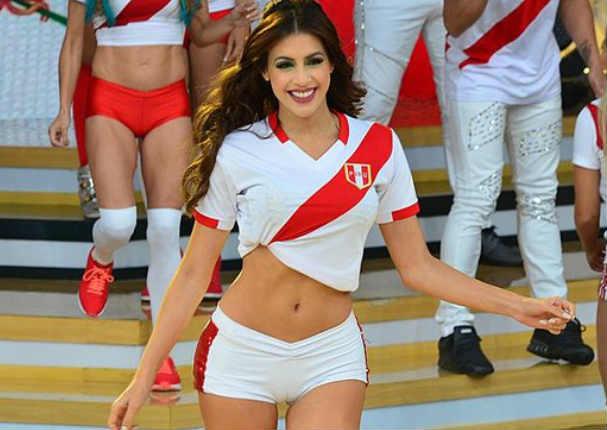 Milett Figueroa: Gritó por selección peruana y le recuerdan video pasado - FOTO