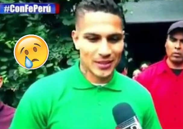 Paolo Guerrero conmueve con estas palabras a todo el Perú - VIDEO