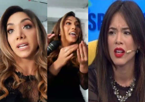 Isabel Acevedo se negó a hablar con Jazmín Pinedo - VIDEO