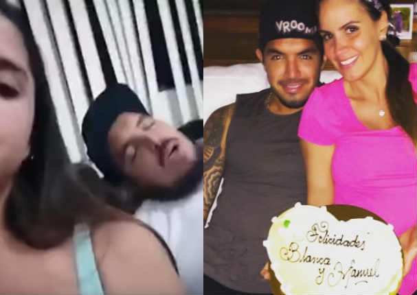 'Loco' Vargas: Aparece video con otra mujer en una extraña situación - VIDEO