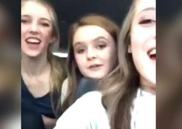 Adolescentes lanzan insultos racistas y colegio las castiga - VIDEO