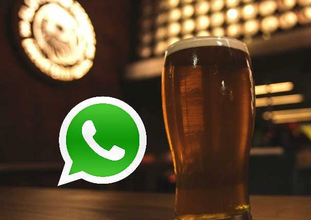 WhatsApp: Mensaje de 'cerveza gratis' alerta a usuarios