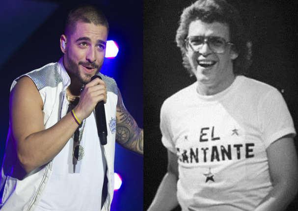 Maluma cantó tema de Héctor Lavoe y le dicen lo peor - VIDEO