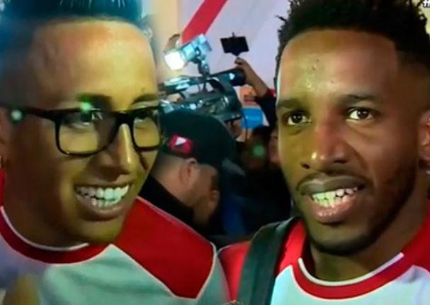 Mira como se divirtieron Jefferson Farfán y Christian Cueva después del triunfo peruano (FOTOS)
