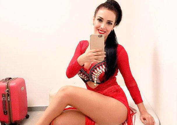 Rosangela Espinoza promociona show en redes sociales (FOTO)