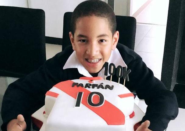 Hijo de Jefferson Farfán se lanza como Youtuber (VIDEO)
