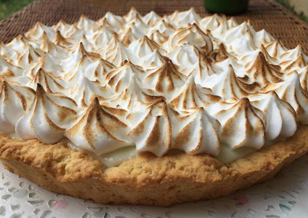 Prepara un delicioso Pie de Limón de la manera más sencilla