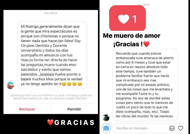 Usuarios envían mensaje a Rodrigo González por suspensión (FOTOS)