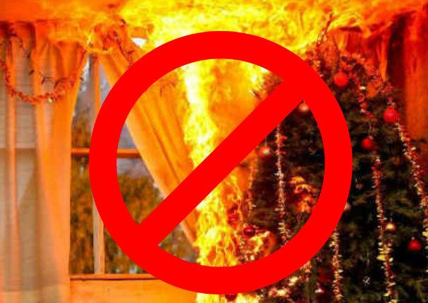 Sigue estos consejos y evita una tragedia esta navidad