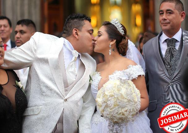 Josimar y su Yambú: Salsero se casó y su esposa robó miradas en la boda (FOTOS)