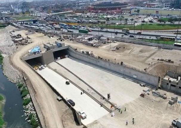 Proyecto Línea Amarilla: Túnel debajo el río Rimac ya está listo (VIDEO)