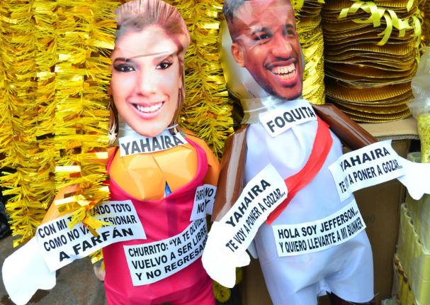 Año Nuevo 2018: Piñatas de 'Chabelita' y 'El Wachimán' son un éxito en ventas (FOTOS)