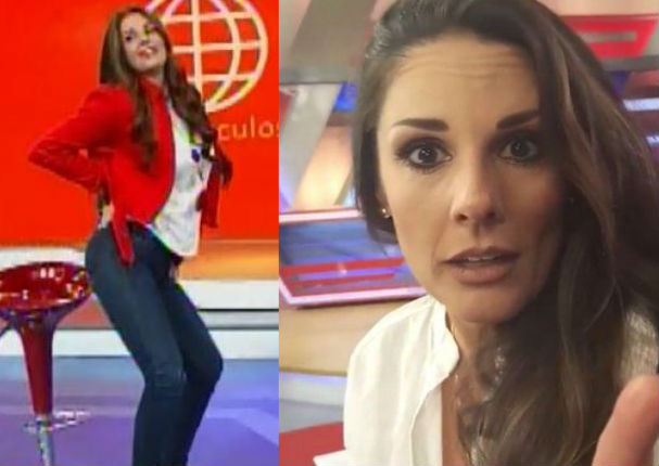 Rebeca Escribens: Así se divierte con coreografías a su estilo (VIDEO)