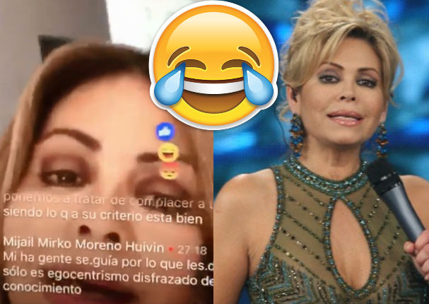 Rodrigo González: Publica video de Gisela Valcárcel siendo trolleada en transmisión en vivo (VIDEO)