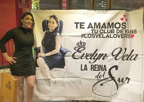 Evelyn Vela: 'VelaLovers' dan todo por 'La Reina Del Sur' (FOTOS)