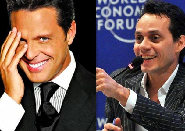 Marc Anthony estaría a punto de revelar secreto con Luis Miguel