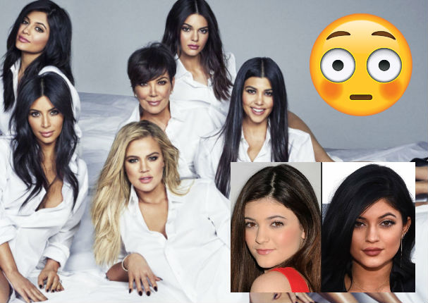 Mira el antes y después de las Kardashian-Jenner (FOTOS)