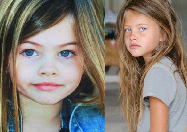 La niña más bella del mundo creció ¡Mira cómo luce! (FOTOS)