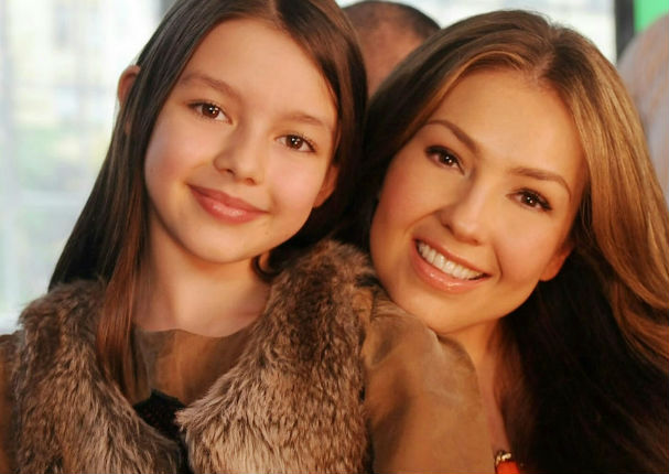Thalía: Mira cómo luce la hija mayor de la artista con Tommy Mottola