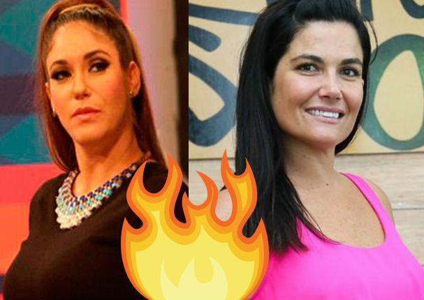 Tilsa Lozano y Daniela Cilloniz se pelean en vivo (VIDEO)