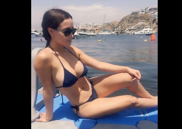 Rosángela Espinoza sube la temperatura en redes sociales (FOTOS)