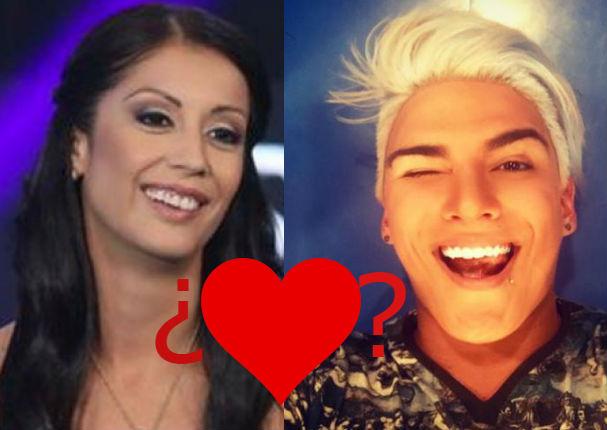 Beso entre Karla Tarazona y 'Zorro' Zupe causa polémica (VIDEO)